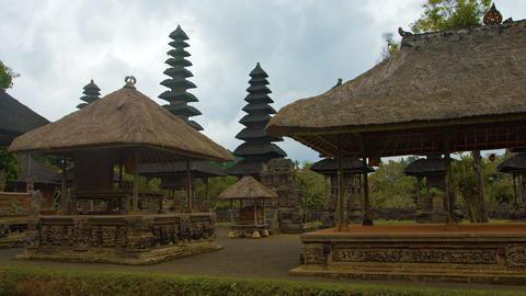 Pura Taman Ayun. a Hindu temple complex in Bali. Indonesia. Video FullHD Footage