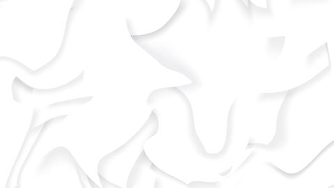 Abstract liquid clean white background Animation