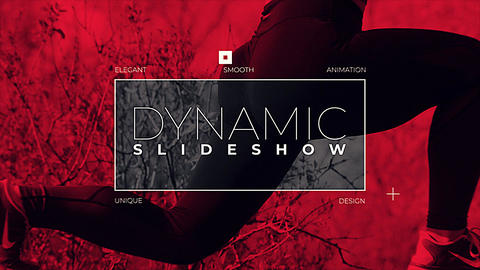 Dynamic Slideshow Plantillas de Premiere Pro