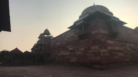Fatehpur Sikri, India - historic remnants of former luxury Live Action