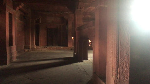 Fatehpur Sikri, India - ancient architecture from the past part 20 Live Action