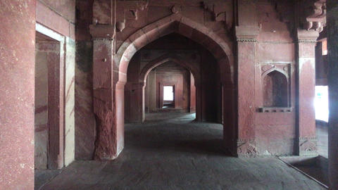 Fatehpur Sikri, India - ancient architecture from the past part 19 Live Action