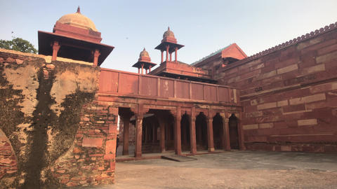 Fatehpur Sikri, India - ancient architecture from the past part 8 Live Action