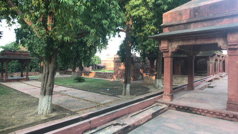 Fatehpur Sikri, India - ancient architecture from the past part 16 Live Action