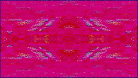 Abstract multi-colored overlay. Old damaged computer effect, Computer generated Live Action
