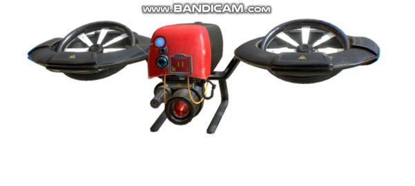 Cyberpunk drone 3D Model