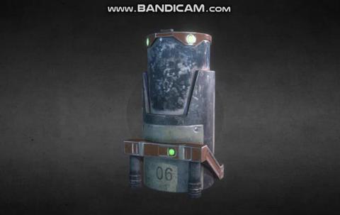 Cyber Baril Modelo 3D