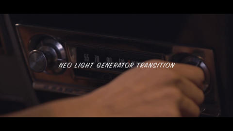 Neo Light Generator Transition Motion Graphics Template