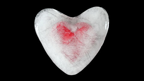 Frozen Heart Ice Melting Videos animados
