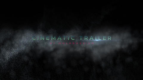Cinematic Trailer Apple Motion Template