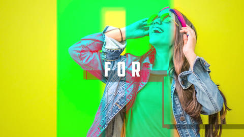 Fashion Blocks Opener After Effects Template