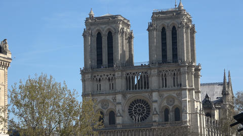 Front View of the Notre Dame 2 Live Action
