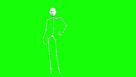 419 3d animated stick man poses and other jestures Animation