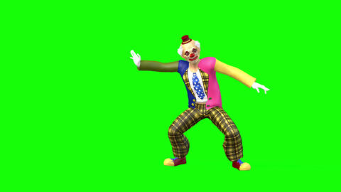 420 3d animated clown moves and other movements Animation