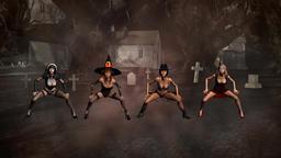 4 Thriller Dancers Animation