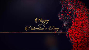 Happy Valentine's Day After Effects Template