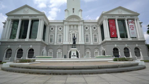 Victoria Theatre in Singapore Live Action