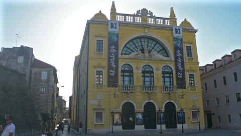 The National Theatre in Split, Croatia Live Action