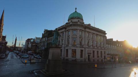 The Royal Society of Edingburgh building - EDINBURGH, UNITED KINGDOM - JANUARY Live Action