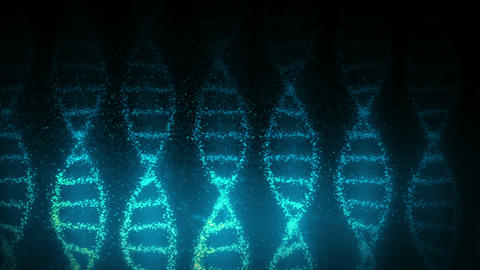 DNA molecule helix as a symbol for genetics code. Medicine and technology concept. Science CG動画