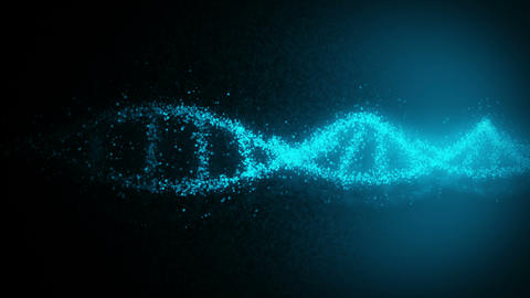 DNA molecule helix as a symbol for genetics code.… 動画素材, ムービー映像素材