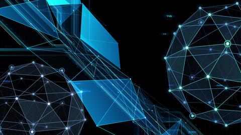 Digital data computer AI technologies concepts Background 5 black22 CG動画