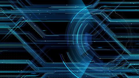 Digital data computer AI technologies concepts Background 5 black26 Animation