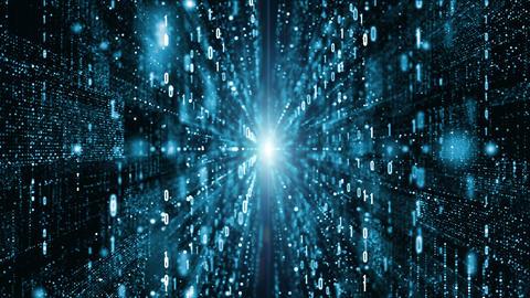 Digital data network 00450, Stock Animation