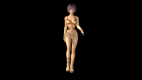 NR10 Catwalk Front Animation