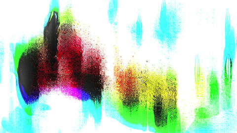 Colored Fashion Music Abstraction Beaty Background Animation