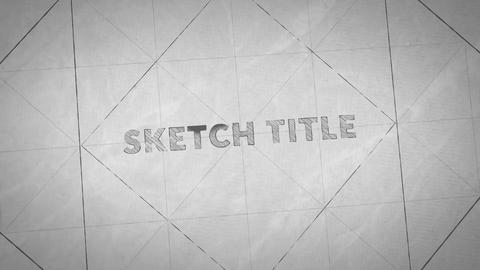 Sketch Intro Motion Graphics Template