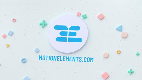 Colorful Shape Logo Premiere Pro Template