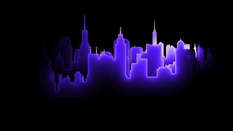 Neon City Animation
