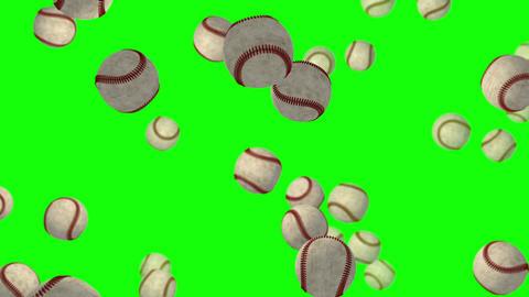 Base Ball green screen loop animation Animation