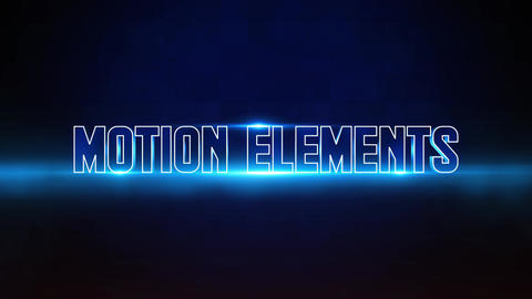 Dark Sci-fi Titles After Effects Template