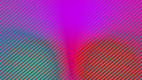 Abstract multicolored background with visual illusion and color shift effects Live Action