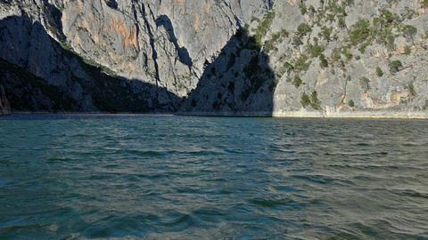 Sahinkaya Canyon near to Vezirkopru district, Samsun city, Turkey Footage