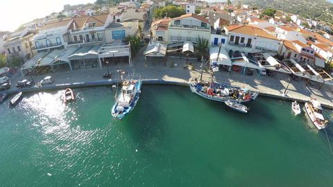 Port of Pythagorio in Samos Island (3) Footage