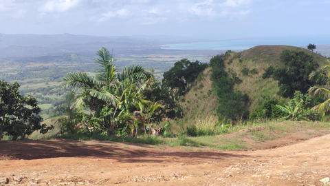 Panorama of Montana Redonda in the Dominican Republic 4 Live Action