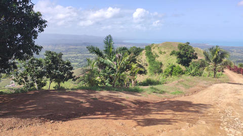 Panorama of Montana Redonda in the Dominican Republic 5 Live Action