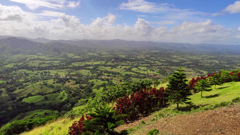 Panorama of Montana Redonda in the Dominican Republic 8 Live Action