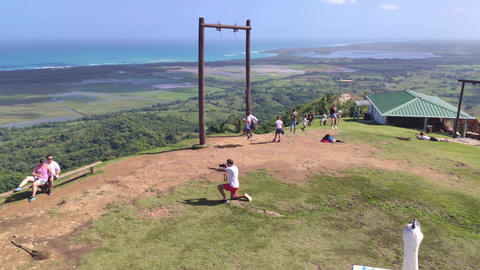 Panorama of Montana Redonda in the Dominican Republic 13 Live Action