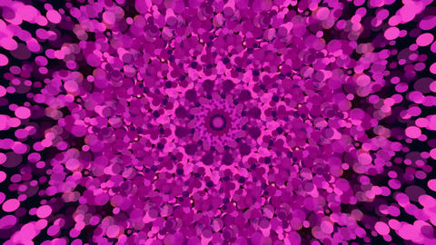 Pink Particles Background CG動画
