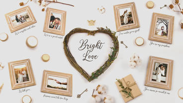 Bright Love After Effectsテンプレート