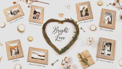 Bright Love After Effects Template