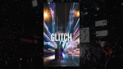 Action Glitch Opener Premiere Pro Template