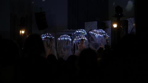 Children Lighting Dance Live Action