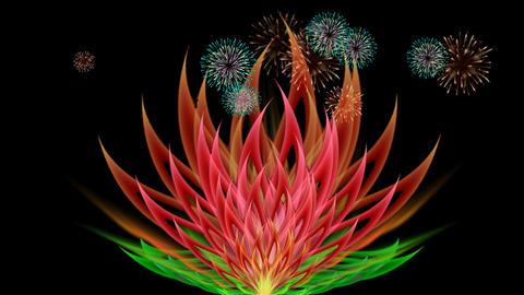 DIGITAL LOTUS FLOWER Animation