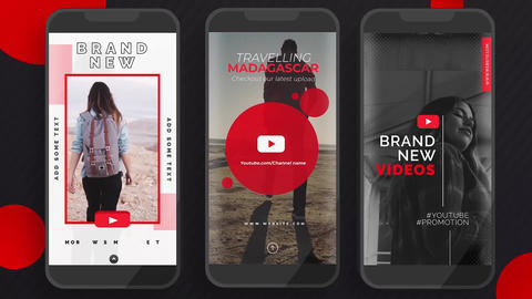 Youtube Instagram Stories Apple Motion Template