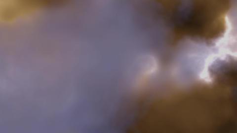 Nebulae Background CG Animation